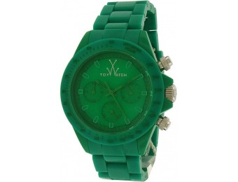 88% off ToyWatch Women's Monochrome Chrono Green Watch