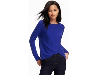 77% off Old Navy Hi Lo Dolman Sleeve Sweater For Women