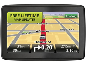 "47% off TomTom VIA 1405M 4.3"" GPS Navigator w/ Lifetime Maps"