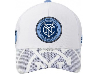 58% off New York City Football Club Youth Structured Mesh Draft Hat