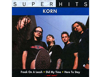 60% off Korn: Super Hits (Audio CD)