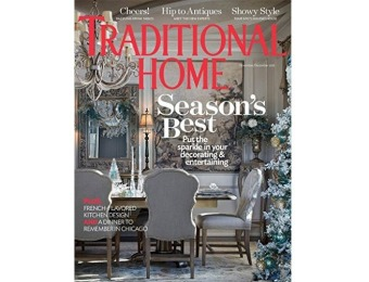 91% off Traditional Home Magazine - 1 year auto-renewal