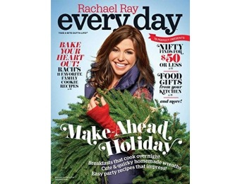 92% off Rachael Ray Every Day Magazine - 10 issues / 12 months