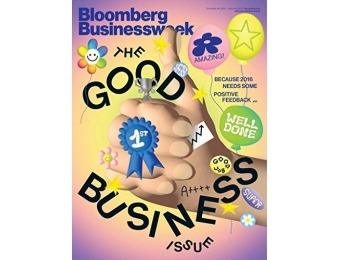 94% off Bloomberg Businessweek Magazine - 12 issues / 3 months