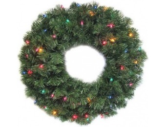 50% off LED Ludwig Artificial Christmas Wreath