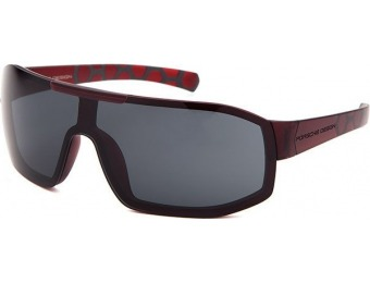 79% off Porsche Design Shield Red Sunglasses