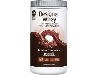 57% off Designer Whey Protein Powder