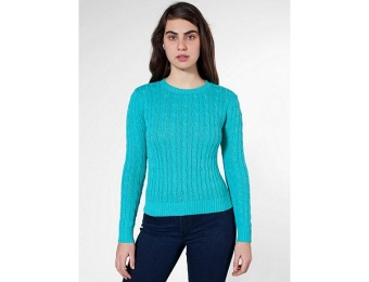 Omen's Cable Women's Knit Pullover