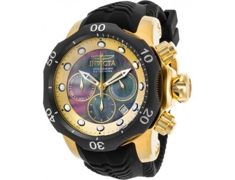 92% off Invicta 22359 Venom Chronograph MOP Dial 18K Watch