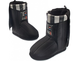 53% off Darth Vader Deluxe Slippers for Kids
