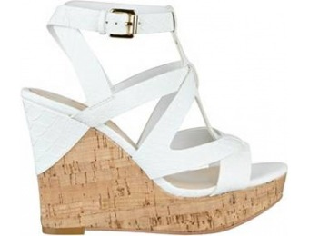 67% off Guess Harlea Cork Wedges