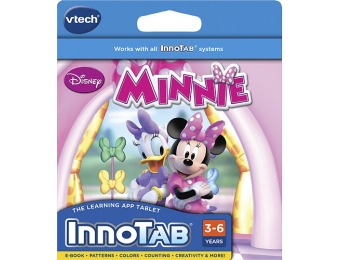 84% off VTech Disney Minnie Software for Vtech InnoTab Systems