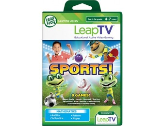 80% off LeapFrog LeapTV Sports! Educational Video Game