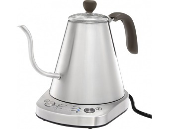 60% off Caribou Coffee 0.8L Electric Kettle - Stainless Steel