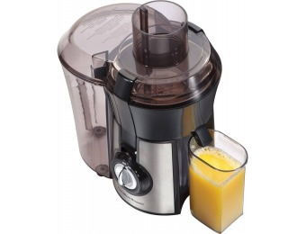45% off Hamilton Beach Stainless Steel Big Mouth Juice Extractor