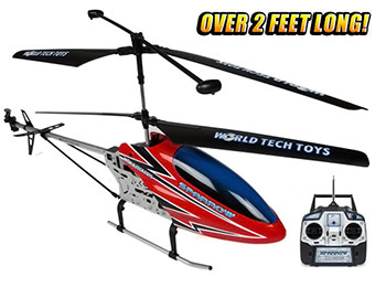 75% off Gyro Metal Sparrow 3.5CH RC Helicopter