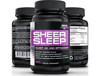 86% off Sheer SLEEP #1 Night Time Sleep Aid & Recovery Supplement