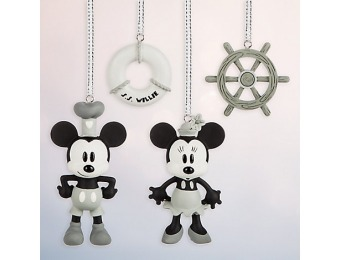 75% off Steamboat Willie Sketchbook Minis Ornament Set