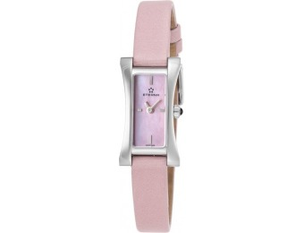 91% off Eterna Women's Sahida Pink Satin MOP Watch