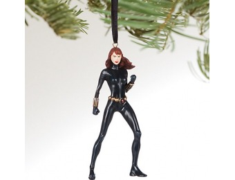 76% off Black Widow Sketchbook Ornament