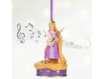 76% off Rapunzel Singing Sketchbook Ornament