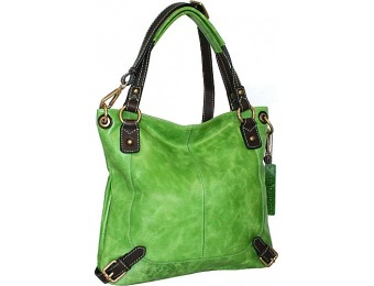 76% off Nino Bossi Torino Satchel, Apple Green