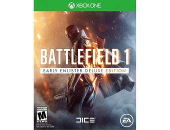 66% off Battlefield 1 Early Enlister Deluxe Edition - Xbox One