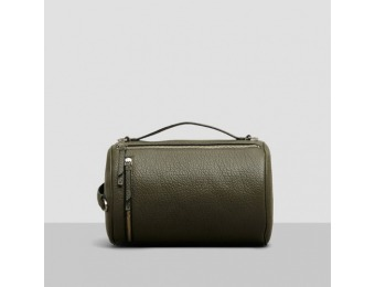 80% off Kenneth Cole New York Leather Convertible Duffle - Olive
