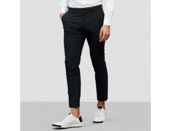 80% off Kenneth Cole Black Label Slim Fit Suit Pants
