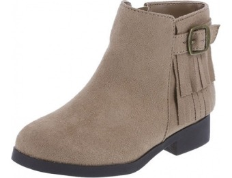 71% off Girls' Toddler Sasha Fringe Boot