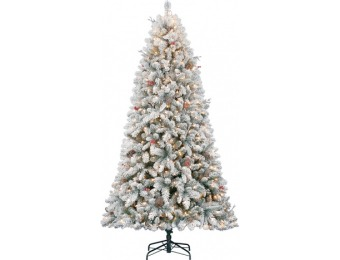 75% off Holiday Living 7.5-ft Pre-Lit Christmas Tree
