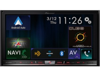 "$527 off Pioneer In-Dash 7"" Navigation AV Receiver"