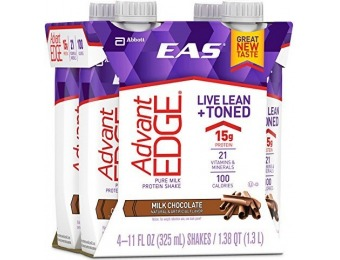 52% off EAS Advantedge Ready-to-Drink Nutrition Shake, 12 Ct