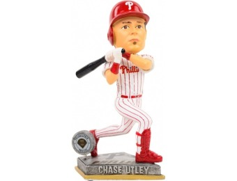 83% off Chase Utley Philadelphia Phillies Bobble Figurine
