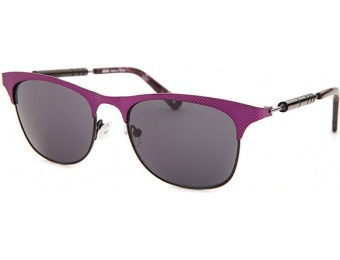 87% off Kenzo Square Magenta and Black Sunglasses