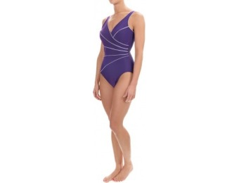 80% off Miraclesuit Horizon Line One-Piece Swimsuit