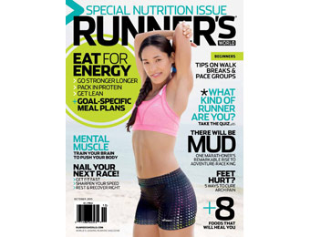 89% off Runner's World Magazine Subscription, $5.99 / 12 Issues
