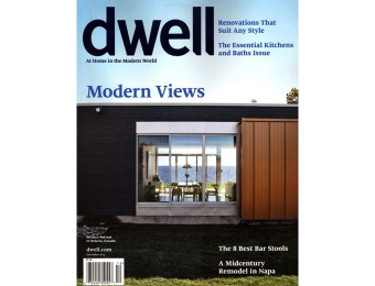76% off Dwell Magazine Annual Subscription, $6.99 / 10 Issues