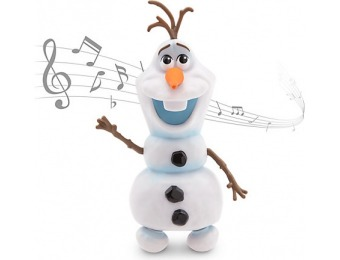 50% off Olaf Singing and Dancing Figure