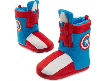 65% off Captain America Deluxe Slippers for Kids