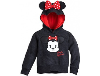 52% off Minnie Mouse Cutie Hooded Fleece Pullover for Kids