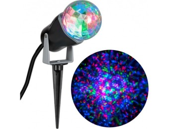 75% off Gemmy LightShow LED Kaleidoscope Christmas Spotlight
