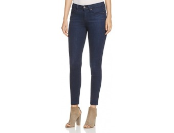 77% off 7 For All Mankind Gwenevere Skinny Ankle Jeans in Dark Wash