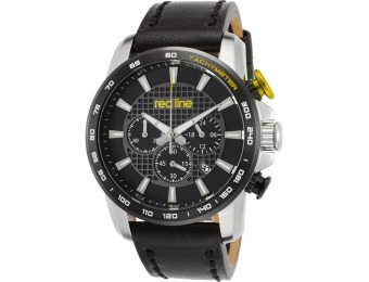 90% off Red Line Fastrack Chrono Leather Watch