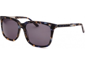 89% off Judith Leiber Women's Square Multi-Color Sunglasses