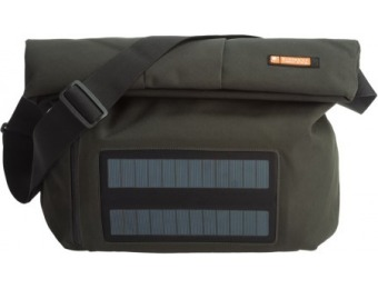 61% off e-mission Messenger Bag with Solar Power Charger