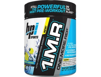 57% off 1.M.R. Pre-Workout Supplement