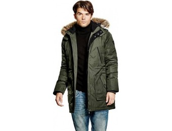 50% off Guess Longline Hooded Jacket