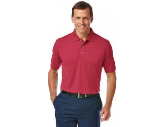 80% off Men's Grand Slam Athletic-Fit Performance Golf Polo
