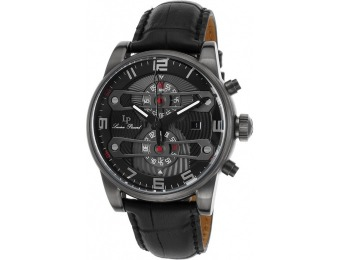 92% off Lucien Piccard Bosphorus Chrono Leather Watch